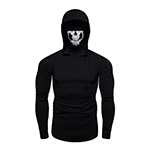 Turtleneck Gaiter Hoodies